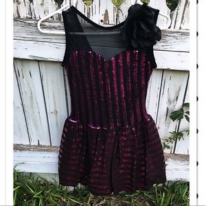 Other - Girls Sequin Dance Costume Sz Large